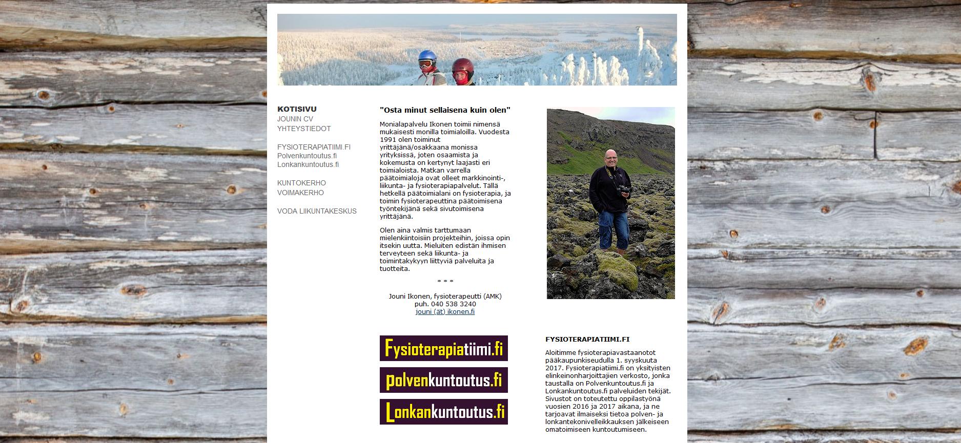 Uudet ikonen.fi-kotisivut julkaistu