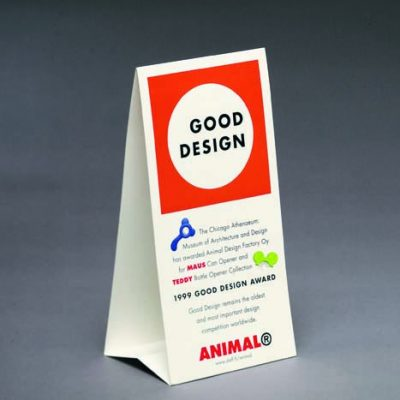 ANIMAL_GoodDesign_palkinto